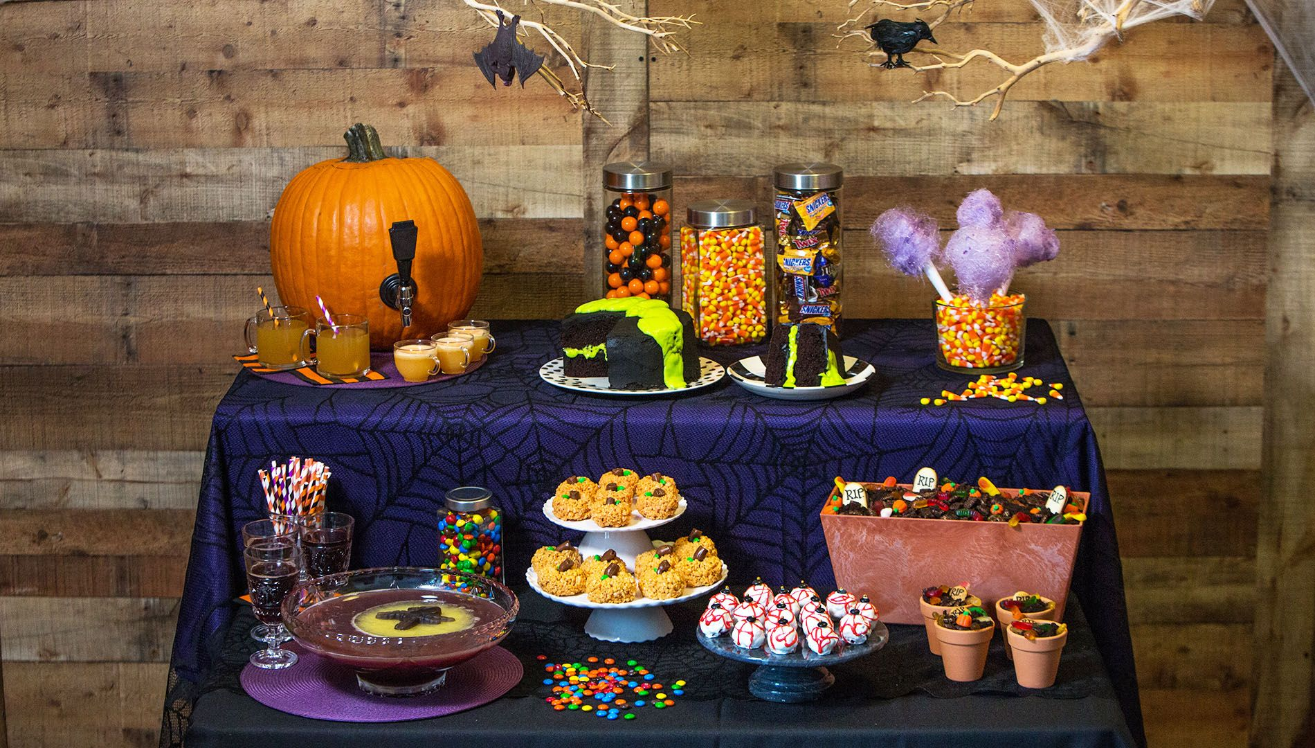 pumpkin kegs and sweet spider webs how to throw the best halloween party