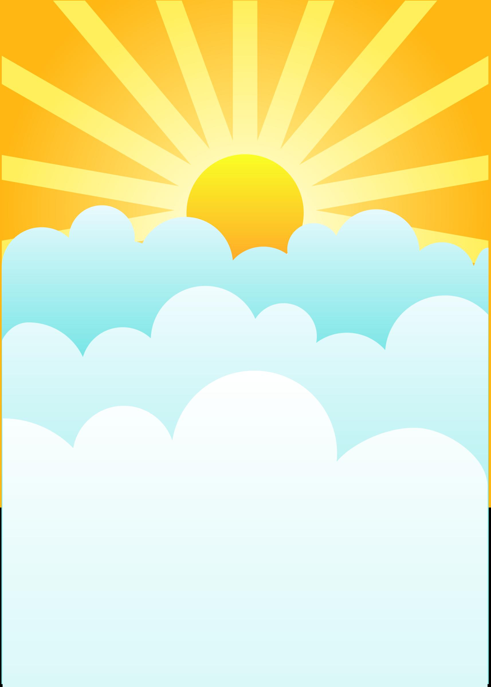 Rising Sun By Dear Theophilus Sun Clip Art Sun And Clouds Sun Art