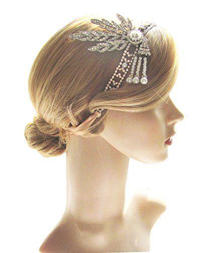 Art Deco 1920s Flapper Great Gatsby Leaf Wedding Bridal T... https://www.amazon.com/dp/B01N0TNMF6/ref=cm_sw_r_pi_dp_x_1WLJybJS2PPJF
