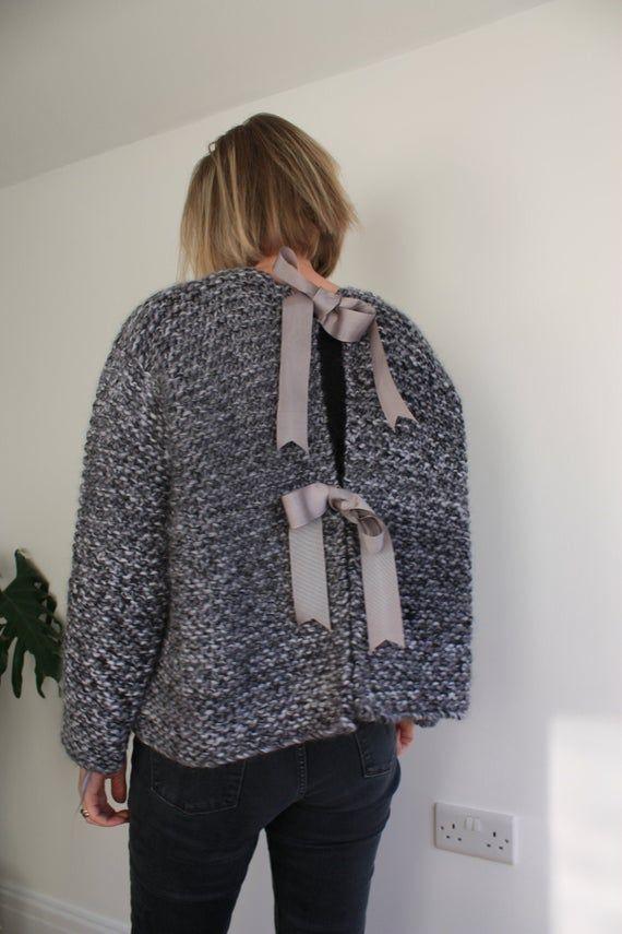 Simple Knitting Pattern Sweater, Easy Oversized Knit ...