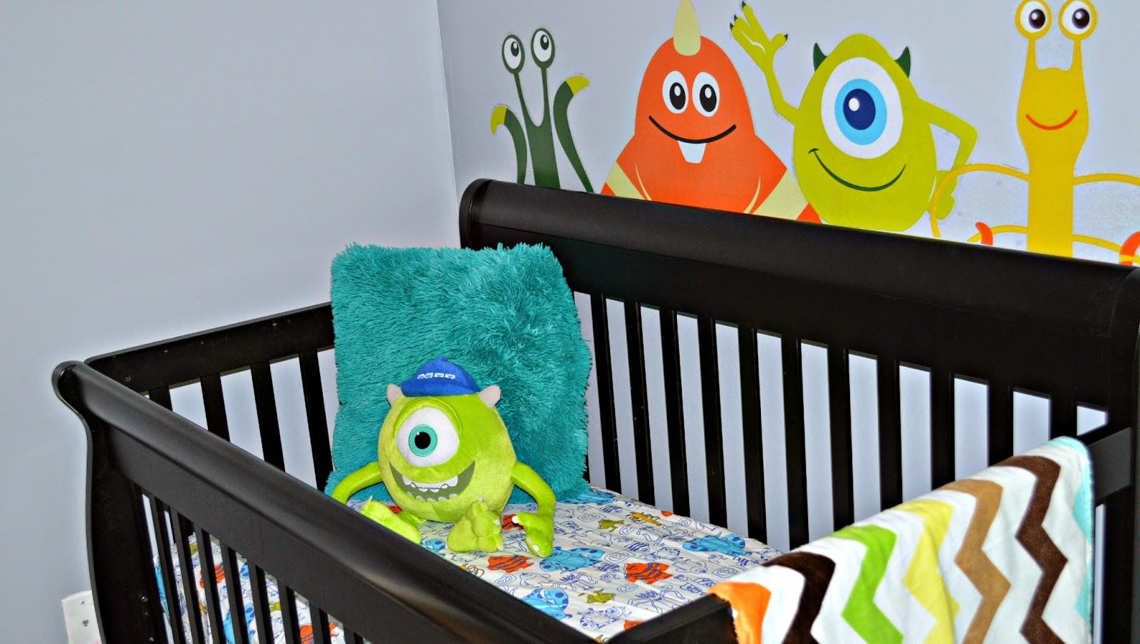 Nursery Reveal Amp Tour Disney Baby Monsters Inc Theme