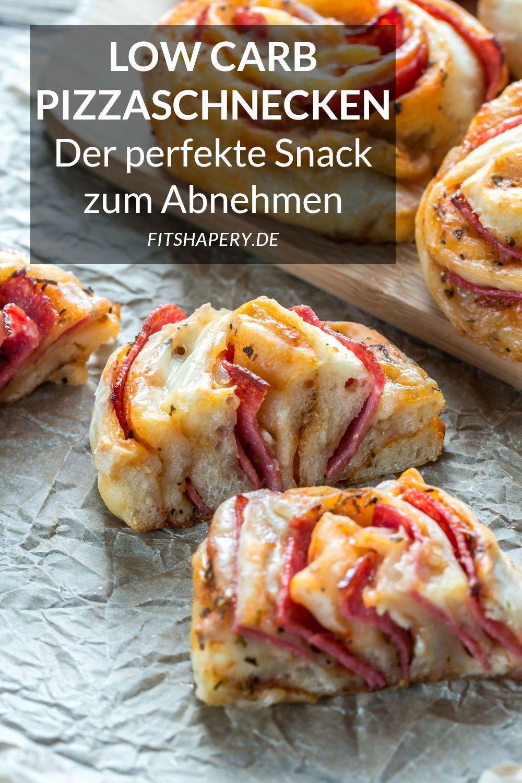 Photo of Low Carb Pizzaschnecken – Eiweißreiches Rezept zum Abnehmen