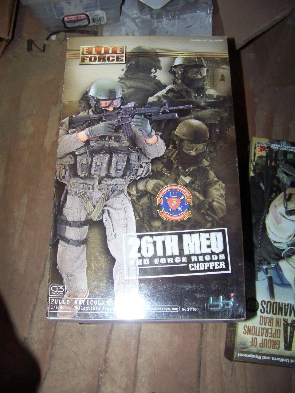 BBI 1/6 scale 26th MEU Force Recon CHOPPER RARE NRFB