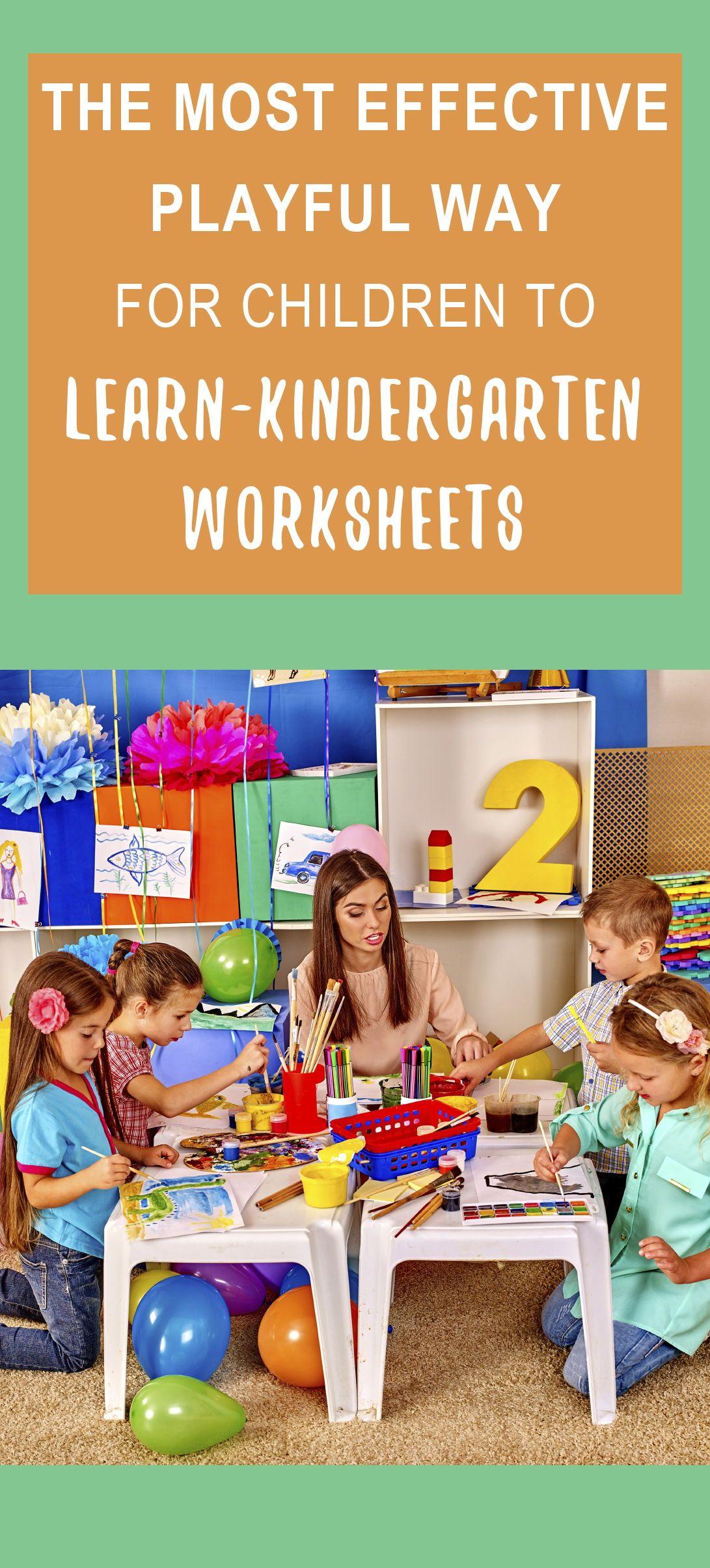 Kindergarten Worksheets Kindergarten Curriculum