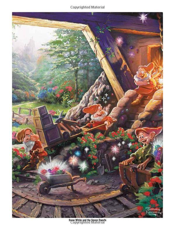 Amazonsmile Disney Dreams Collection Thomas Kinkade Studios