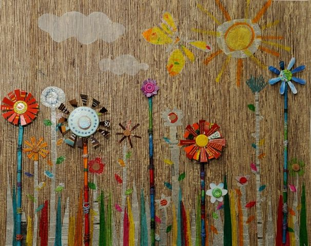 Recycled Childrens Art