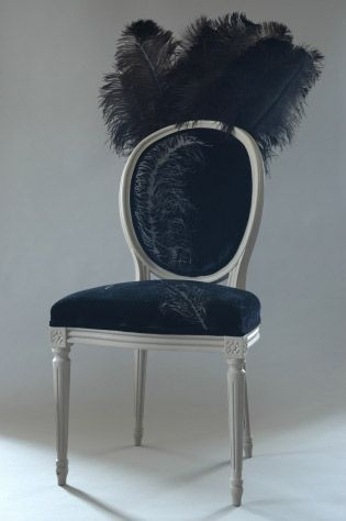 Wonderful Vintage Restored Burlesque Chair From Ghost Furniture   Click To Enlarge  Image In A New Window