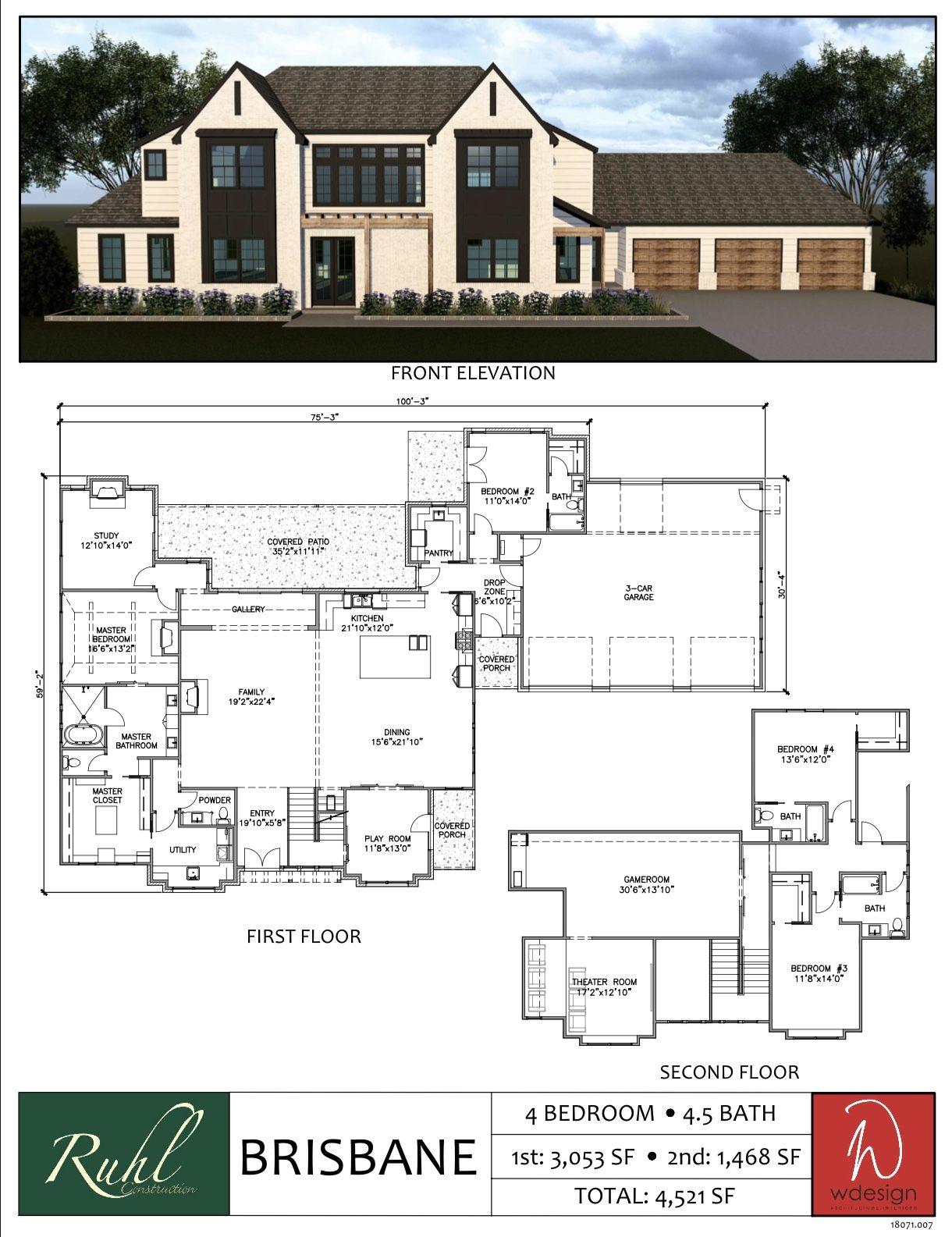 Ruhl Construction Floor Plans Ruhl Constructionruhl Construction Craftsman House Plans Luxury Floor Plans Modern House Floor Plans