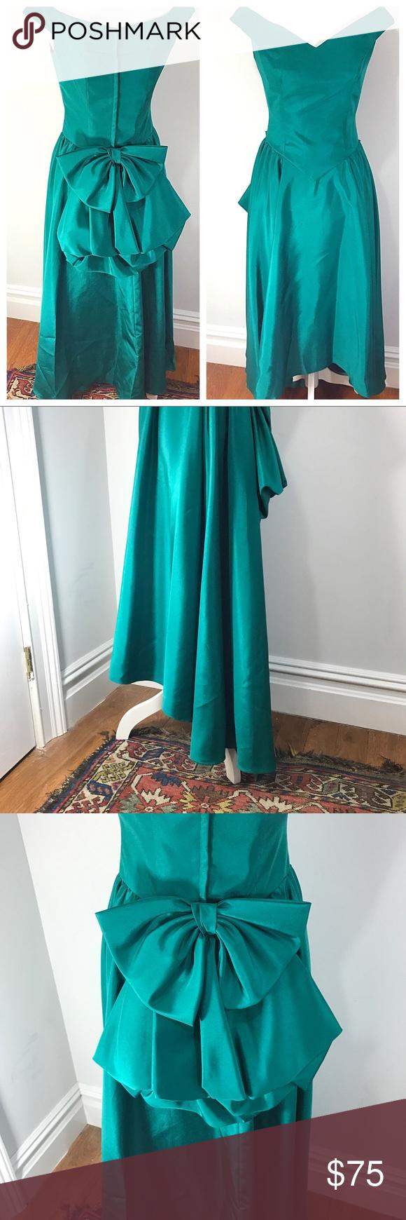 Vintage s prom dress princess fit