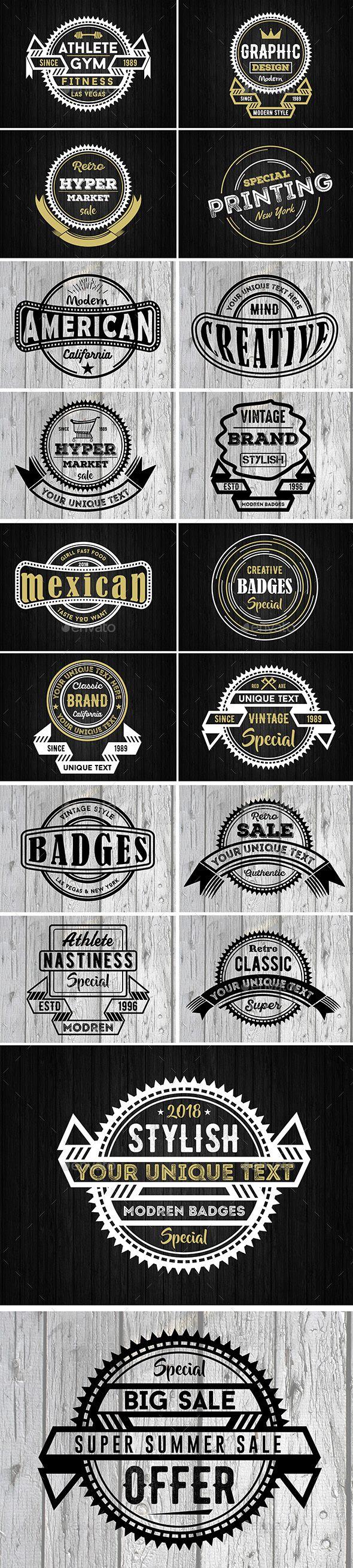 Badges & Logos   Inspiración