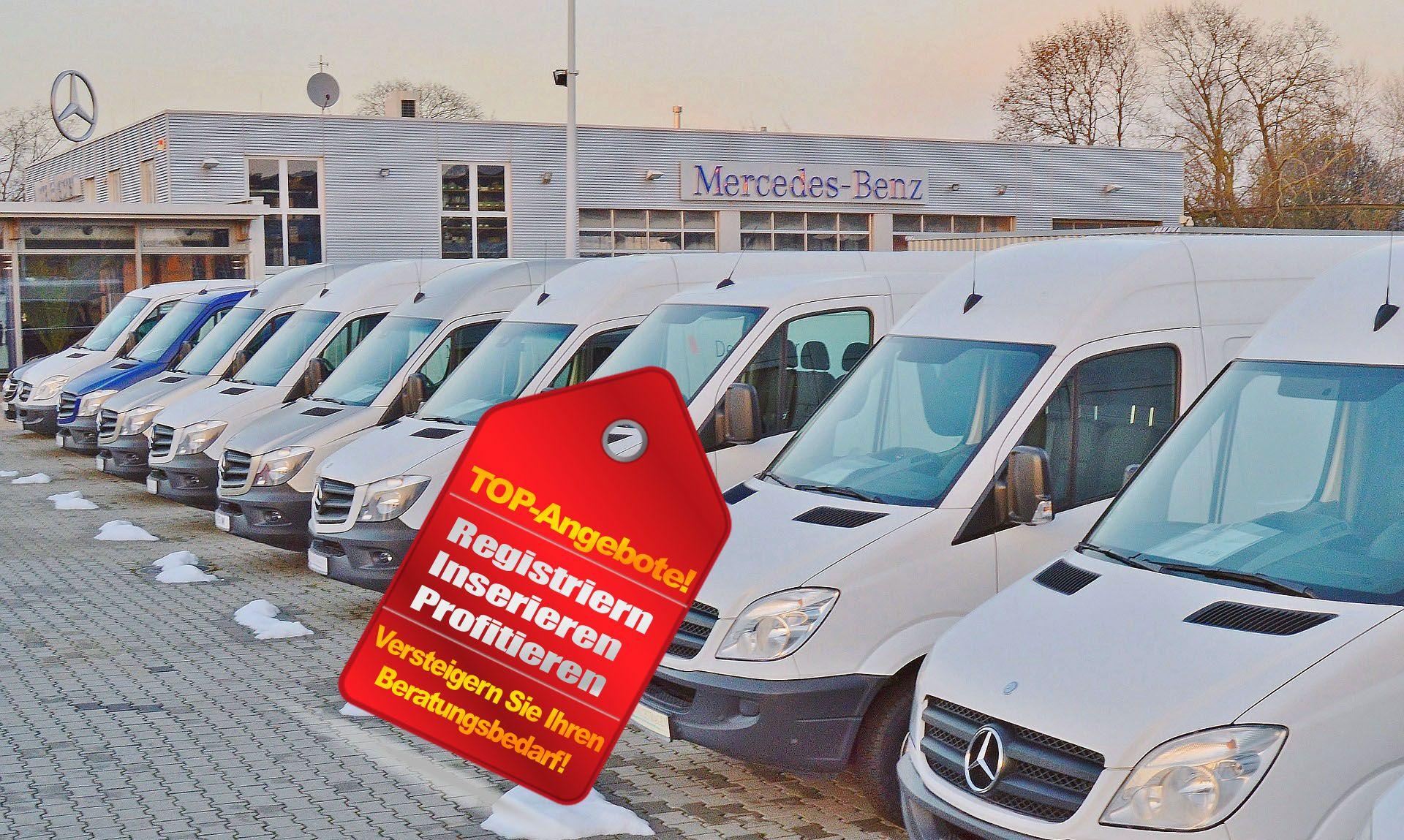 KFZ-Flottenversicherung - für gewerbliche Kraftfahrzeuge! Auktionen für Flottenversicherungen / Fuhrparks kommen unter den Hammer!