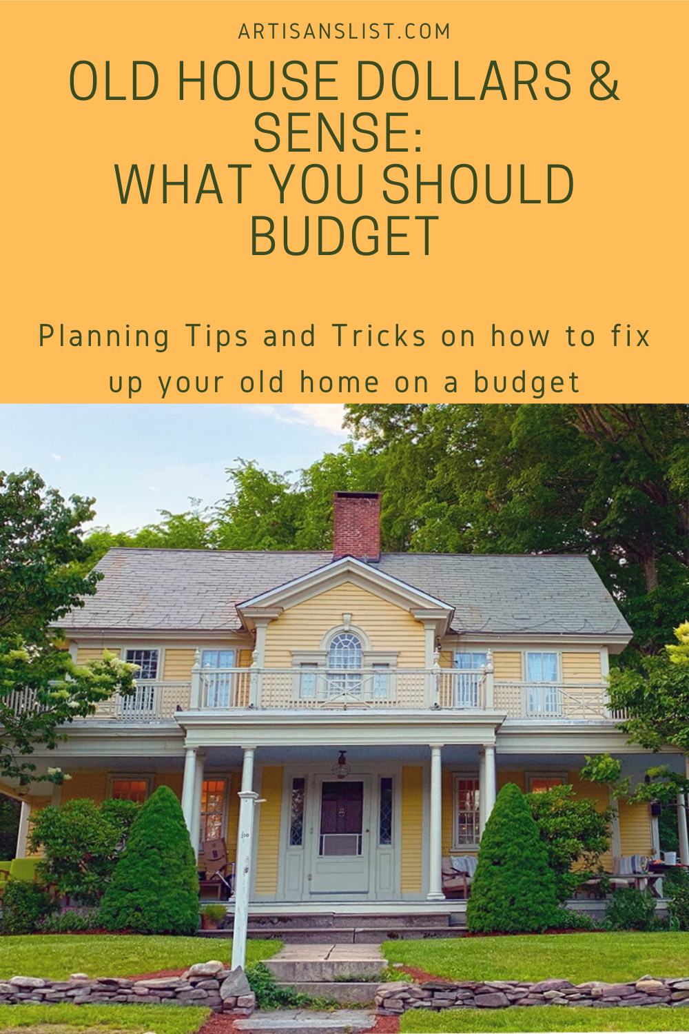 Budget tips for fixing up your old house #oldhouse #vintagehome #budget #diy