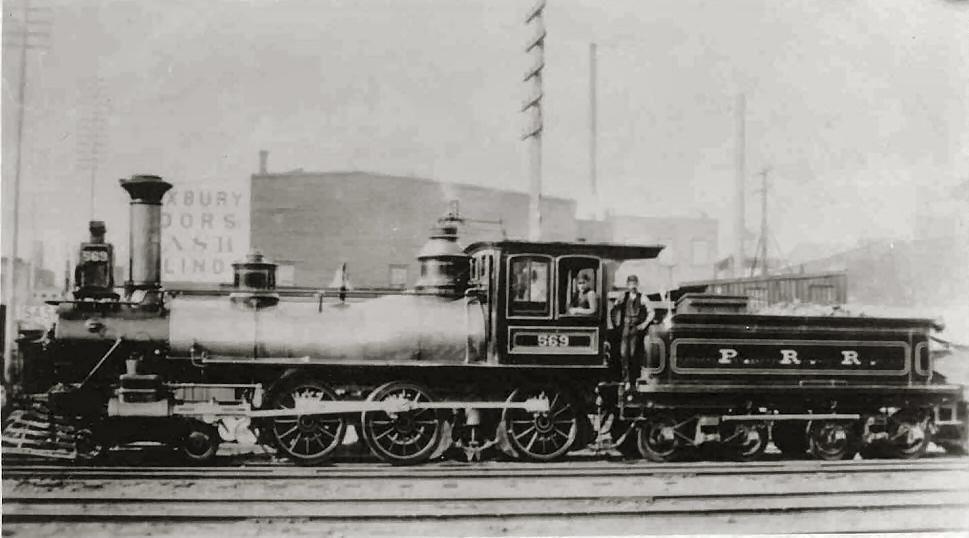 Class G1)  Pennsylvania R R  #569  4-6-0 Ten Wheeler