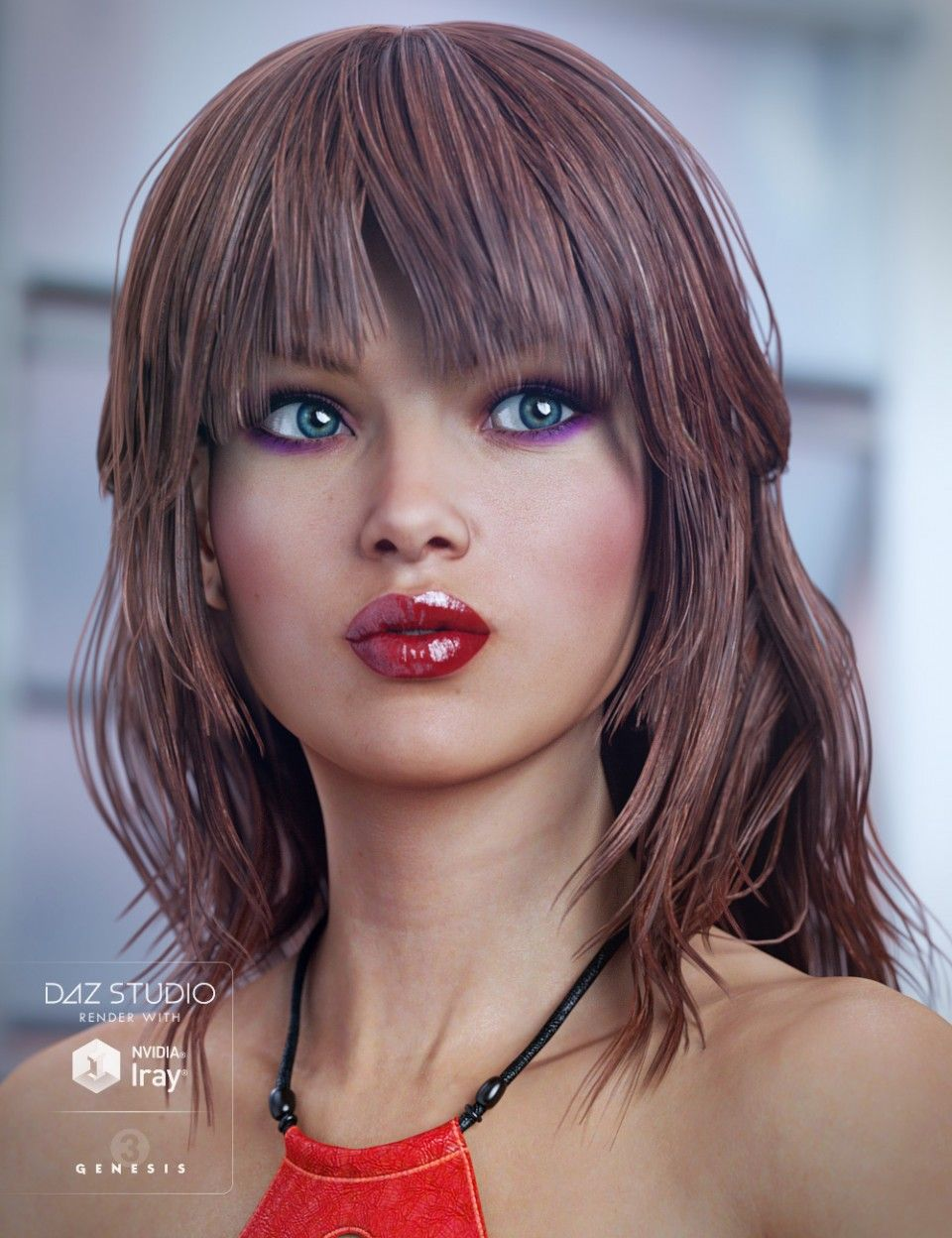 Bblythe Hair For Genesis 8 Female S