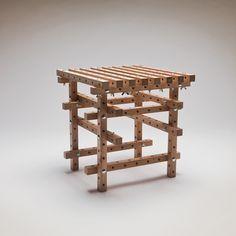 Un #LEGO para adultos que permite construir #muebles | #diseño #mobiliario