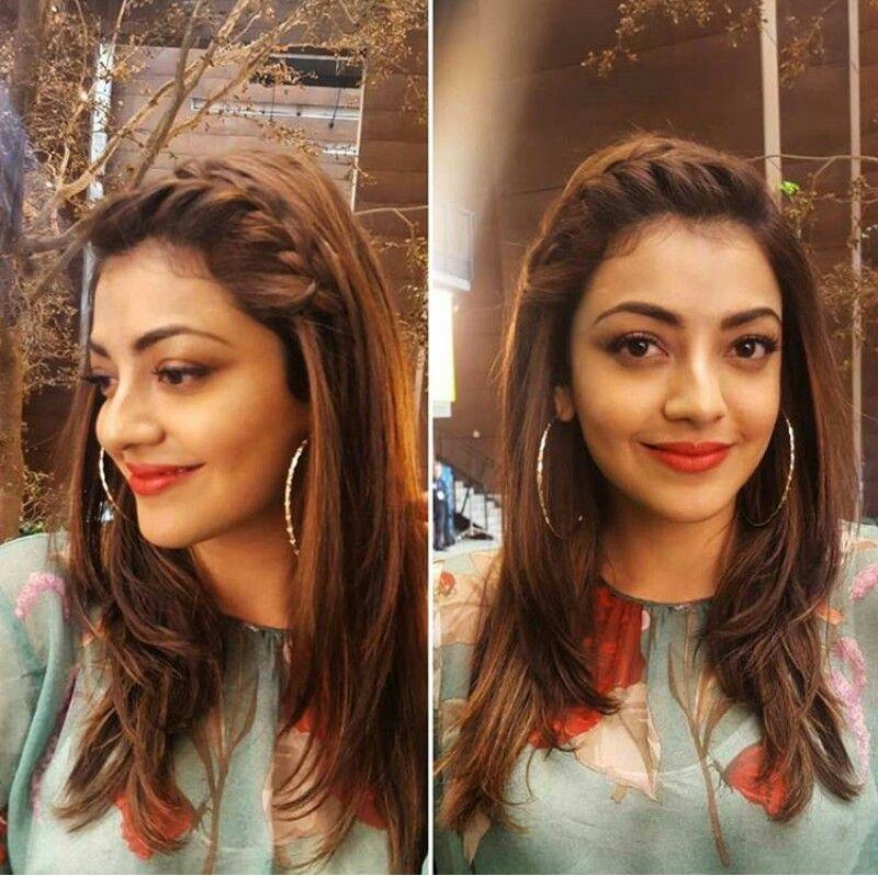 Kajal Aggarwal New Look Front Hair Styles Hair Styles Medium Length Hair Styles