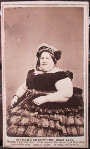 Antique 19thc cdv photo pt barnum circus madame sherwood giant lady antique 19thc cdv photo pt barnum circus madame sherwood giant lady fredericks stopboris Image collections
