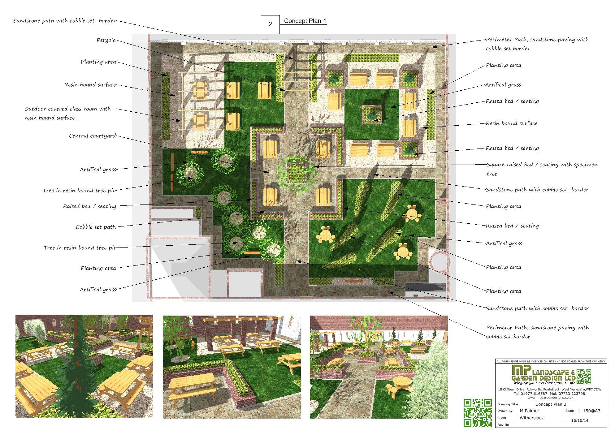 concept plan 2 garden design plans 3 pinterest