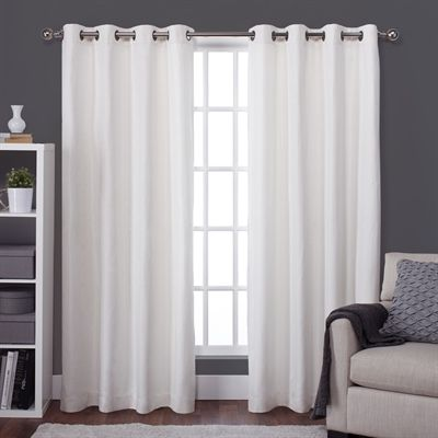 Design Decor Curtains Drape Lw8959 04 5596 Raw Silk Look Thermal