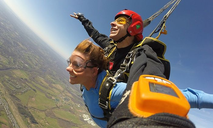 Tandem Skydive For One Or Two At Skydive Collegeville Up To 52 Off Tandem Skydiving Skippack