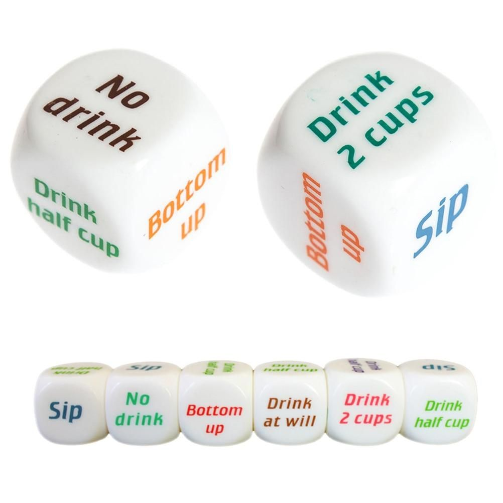 Drink Decider Dice Adult Party Games Die Games Dice Games