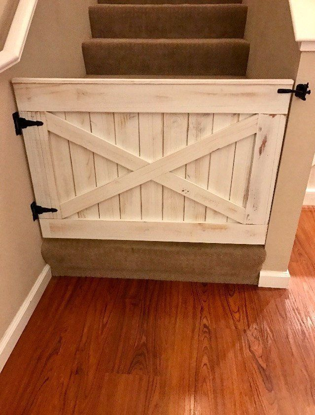 Rustic Dog or Baby Gate Barn Door Style | Etsy