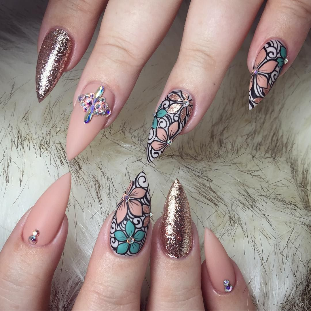 ♚❁Pinterest: Joniwhite219 | nails | Pinterest | Nail nail ...