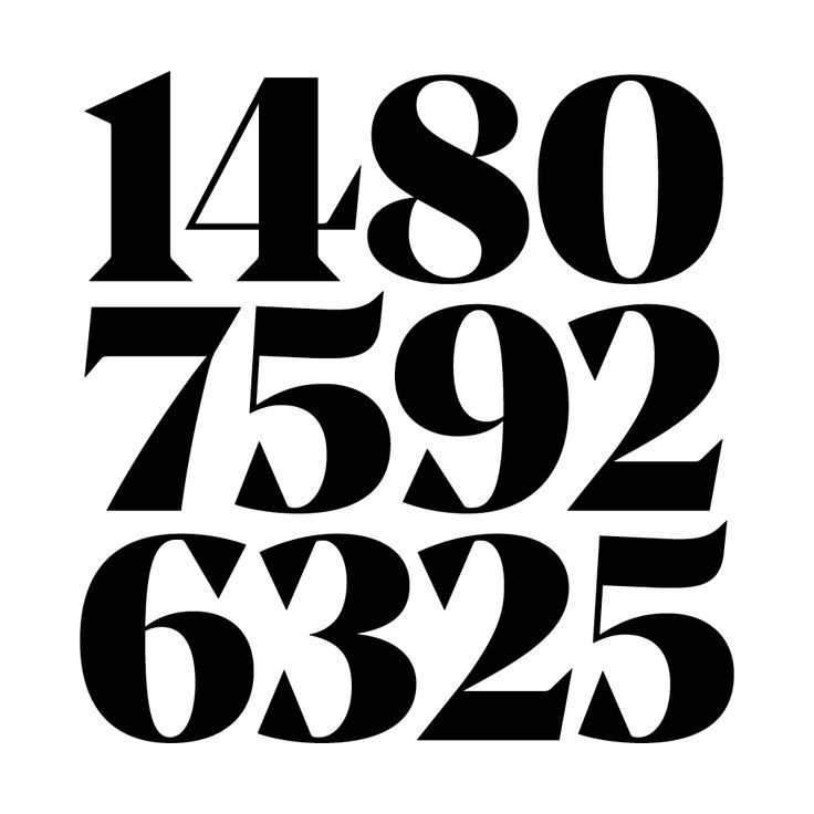 Portaoggetti Design Letters Numbers : Numbers typography pinterest typo and fonts