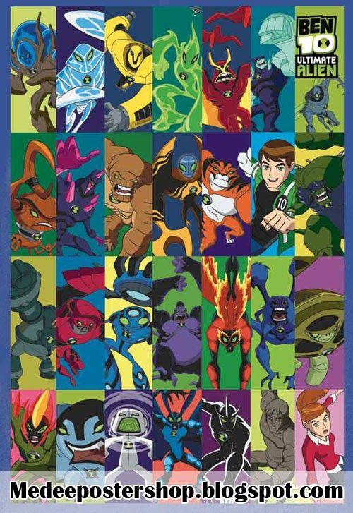Poster De Ben 10 Supremacia Alienigena Ben 10 Poster