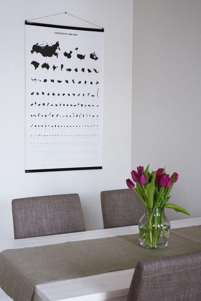 DIY dining room table / Itse tehty ruokapöytä.