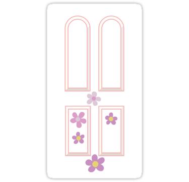 Monster S Inc Boo S Door Design Sticker By Deborahjulene In 2020 Monsters Inc Boo Monsters Inc Decorations Monsters Inc Doors