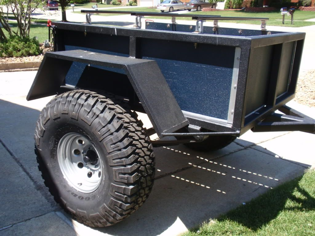 Trailer Fender Boxes : Trail trailer page pirate and off road