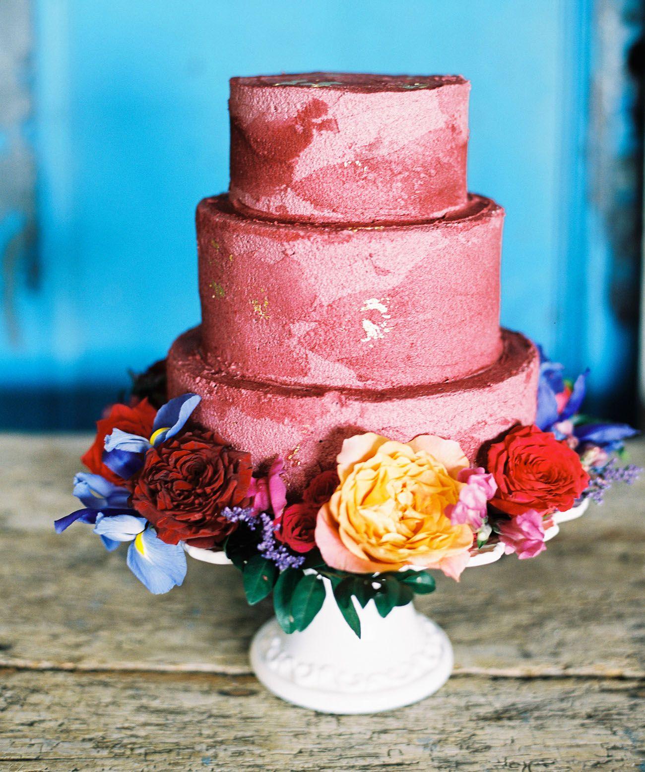 Home cake wedding cake and wedding