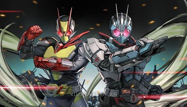Hero Di Instagram It S Very Cool Zero Two Ichigata They Look Like Ichigo Nigo Cr Twitter Jiur998i Kamen Kamen Rider Kabuto Rider Kamen Rider Wallpaper kamen rider zero two
