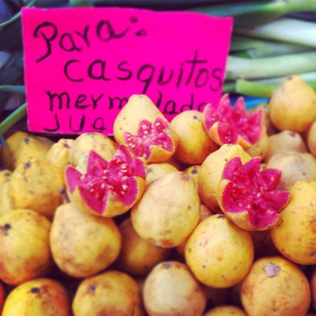 Market Fruit In Mexico City Pink Fruit Kiwibemine Fruit