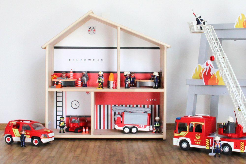 Spielfolie Ponny Hus für IKEA Puppenhaus FLISAT #ikeakinderzimmer