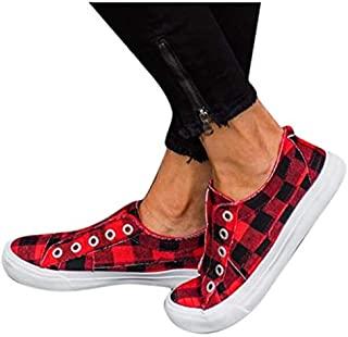Plaid shoes women, Casual shoes women