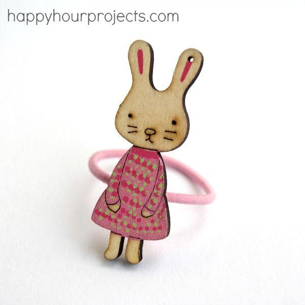 Simple Easter Hair Tie