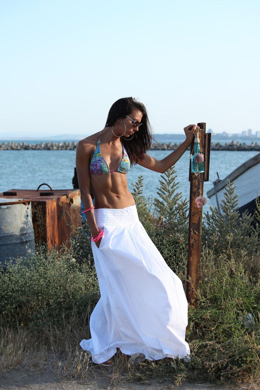 White maxi skirt / Long white skirt / white cotton maxi skirt / long cotton skirt / Plus size by DECALOGUE13 on Etsy https://www.etsy.com/listing/230094673/white-maxi-skirt-long-white-skirt-white