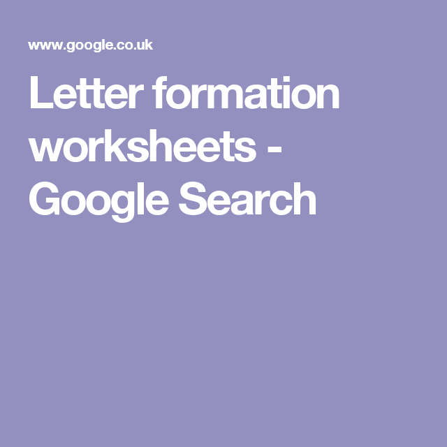letter formation worksheets google search printables pinterest google and alphabet