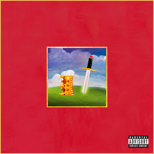 My Beautiful Dark Twisted Fantasy Kanye West Beautiful Dark Twisted Fantasy Mini Canvas Art Creative Art