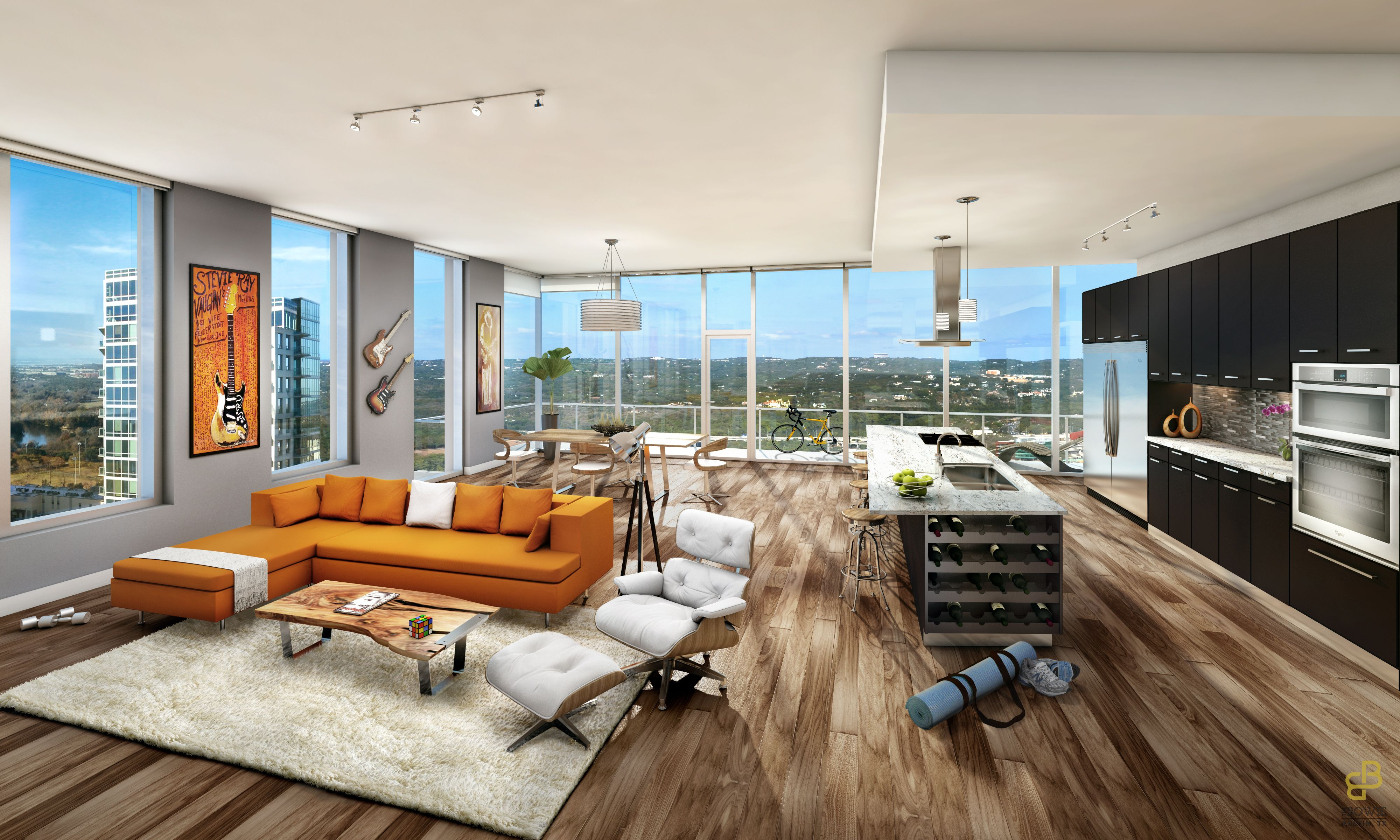 Enjoy Luxury From Every Angle In Your New Downtown Austin Apartment. Youu0027ll  Find