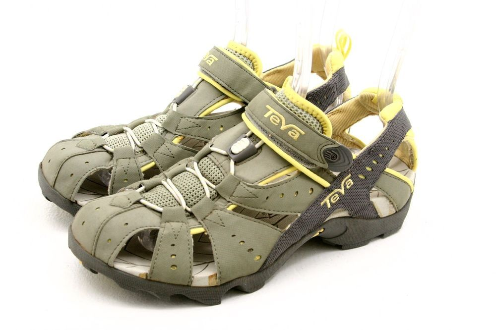 34dd080acee1 TEVA womens sandals Size 9 DOZER yellow gray waterproof river water sport  shoes in Great Shape!  Teva  SportSandals  ebay  shoes  beach  auction