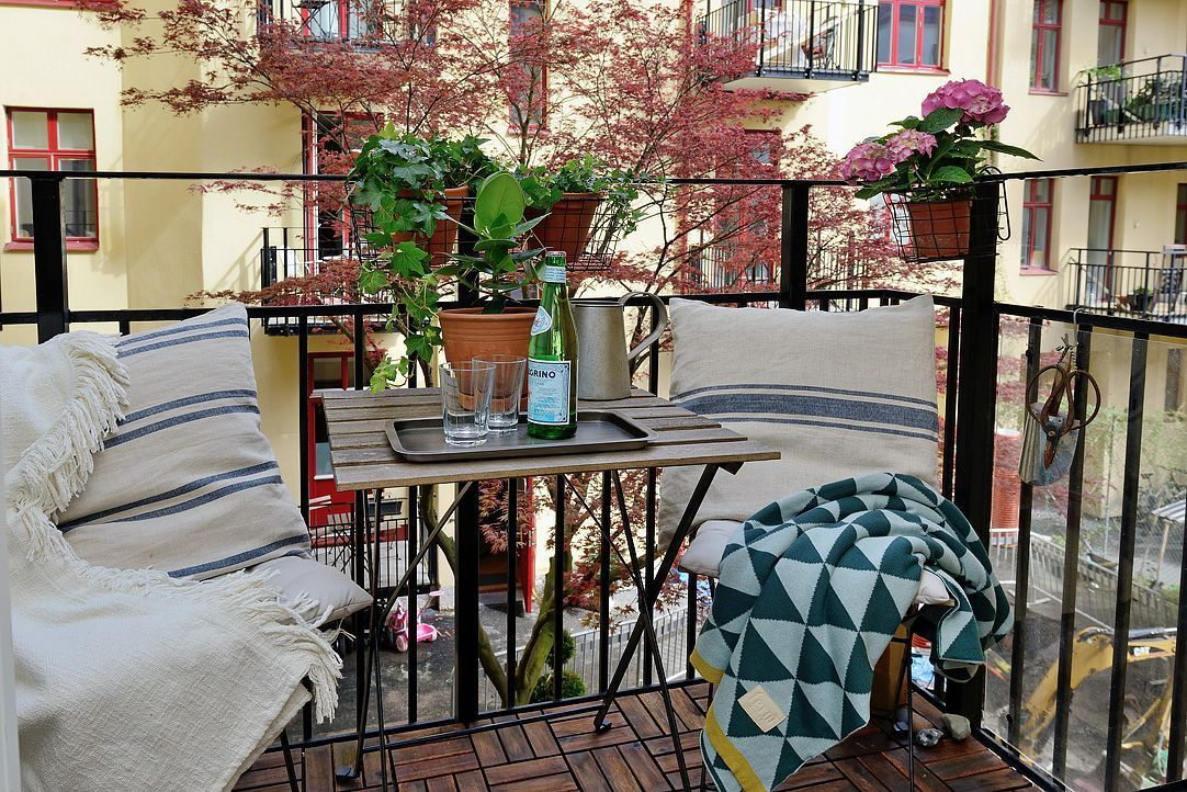 cool design ideas to make balcony on your apartment the best place for relax also rh pinterest