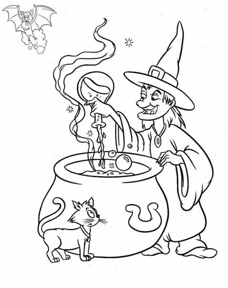 Halloween Ausmalbilder - Halloween - ZENIDEEN Halloween