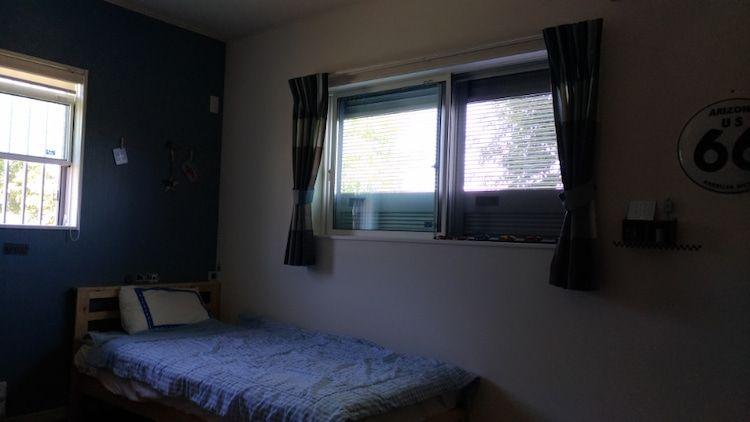 新居に採用して良かった 通風雨戸 画像あり リビング 整理 雨戸 ホームインテリアデザイン