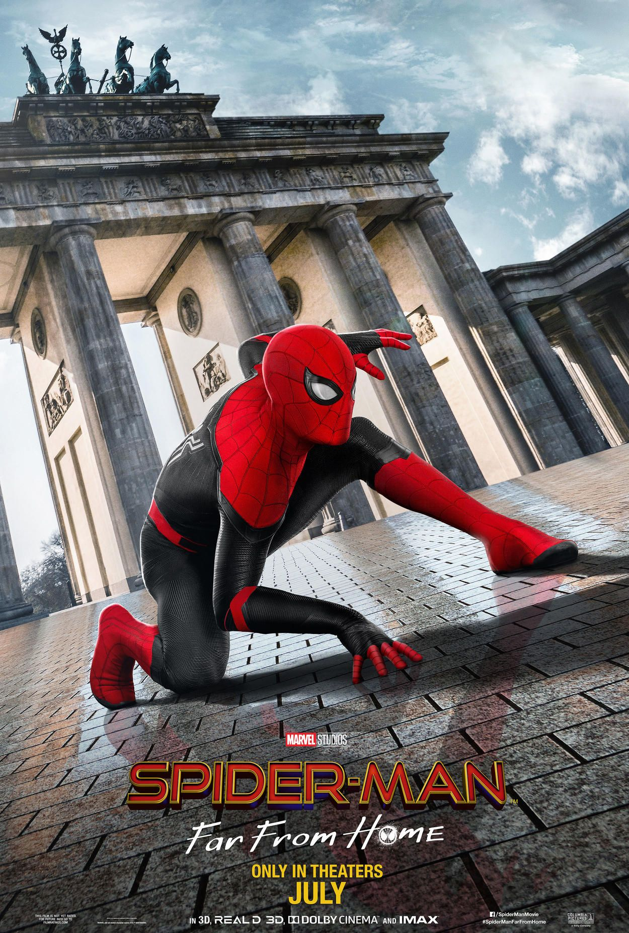 Spidey Swings Around Europe In New International Posters For