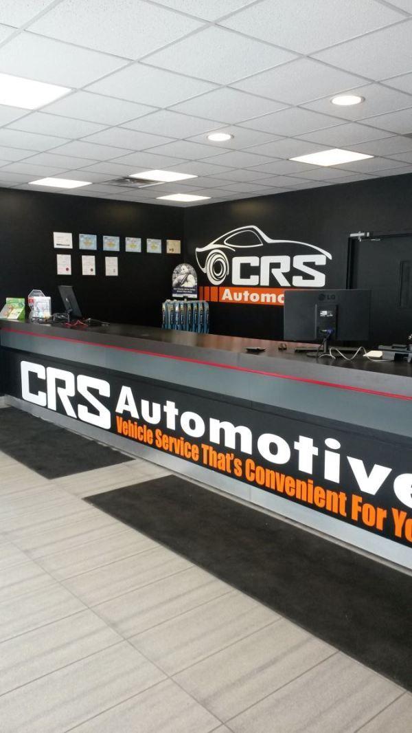 Our Service Counter At Crs Automotive Oakville Oakville