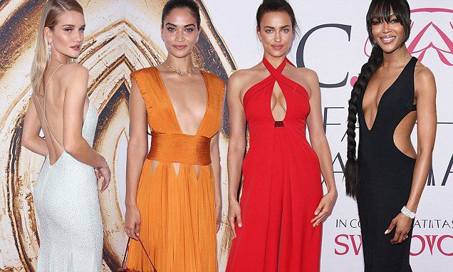 Rosie Huntington-Whiteley, Irina Shayk wow at CFDA Awards in NYC