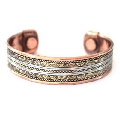 Bracelet Cuivre et Aimants (brcuig003)
